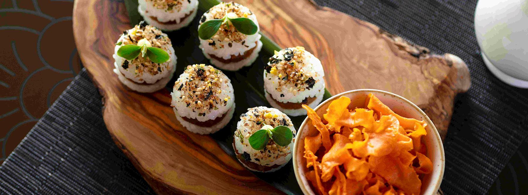 Siddharta Lounge food